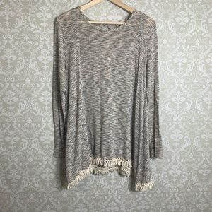 Gorgeous Altar'd State Knit Sweater with Tassal